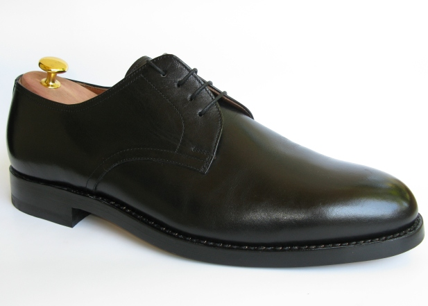 Shoe-PlainDerby-Black