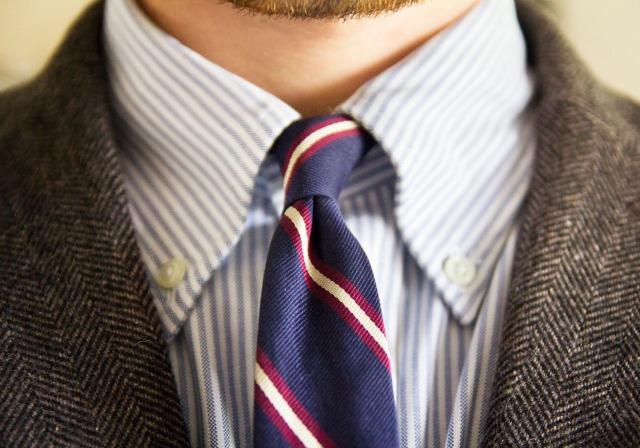 button-down-shirt-tie