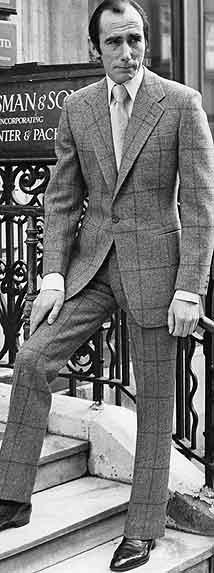 Колин Хэммик, наставник Ричарда Андерсона и один из самых известных закройщиков Huntsman