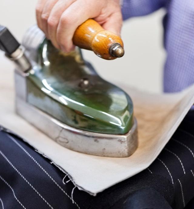 Ironing-the-fabric
