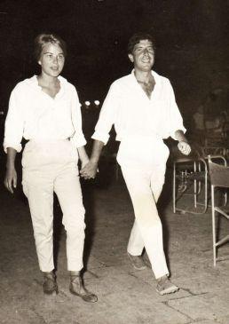 С Марианной Илен на острове Гидра